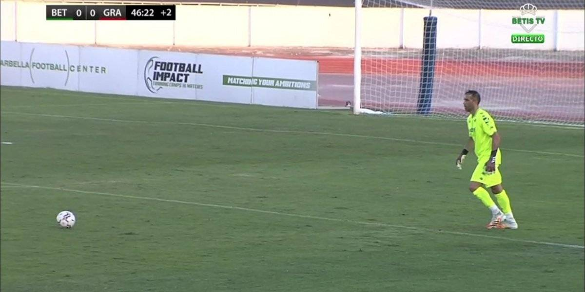 Claudio Bravo fue titular en victoria del Betis en un amistoso ante Granada