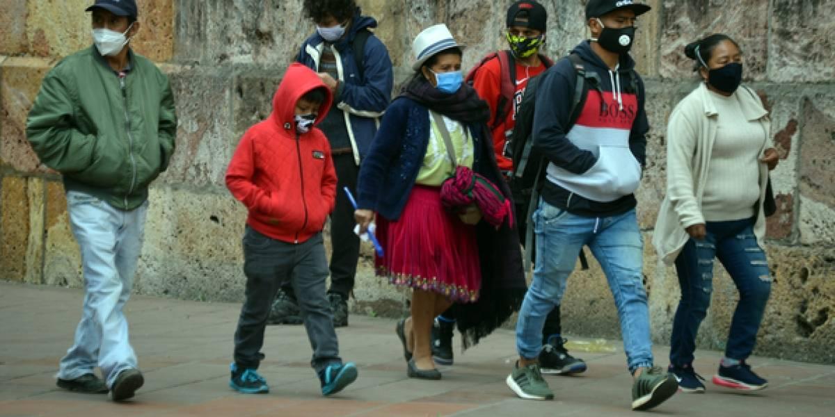Ecuador suma 665 casos de coronavirus en un día y totaliza 110.757 contagios