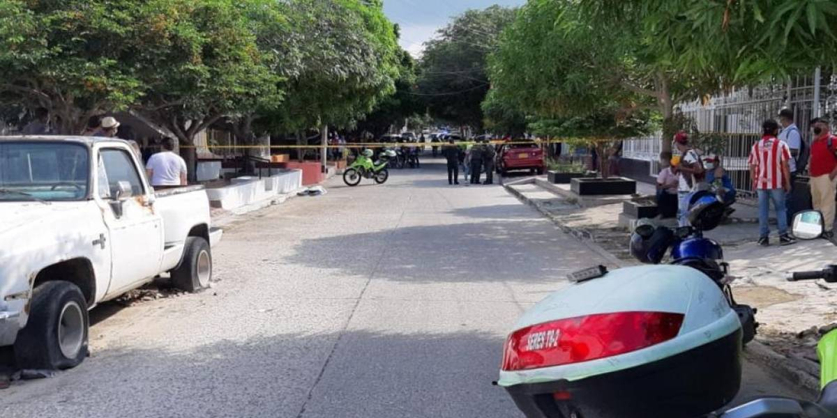 Policía que fue asaltado le quitó la vida a uno de los ladrones