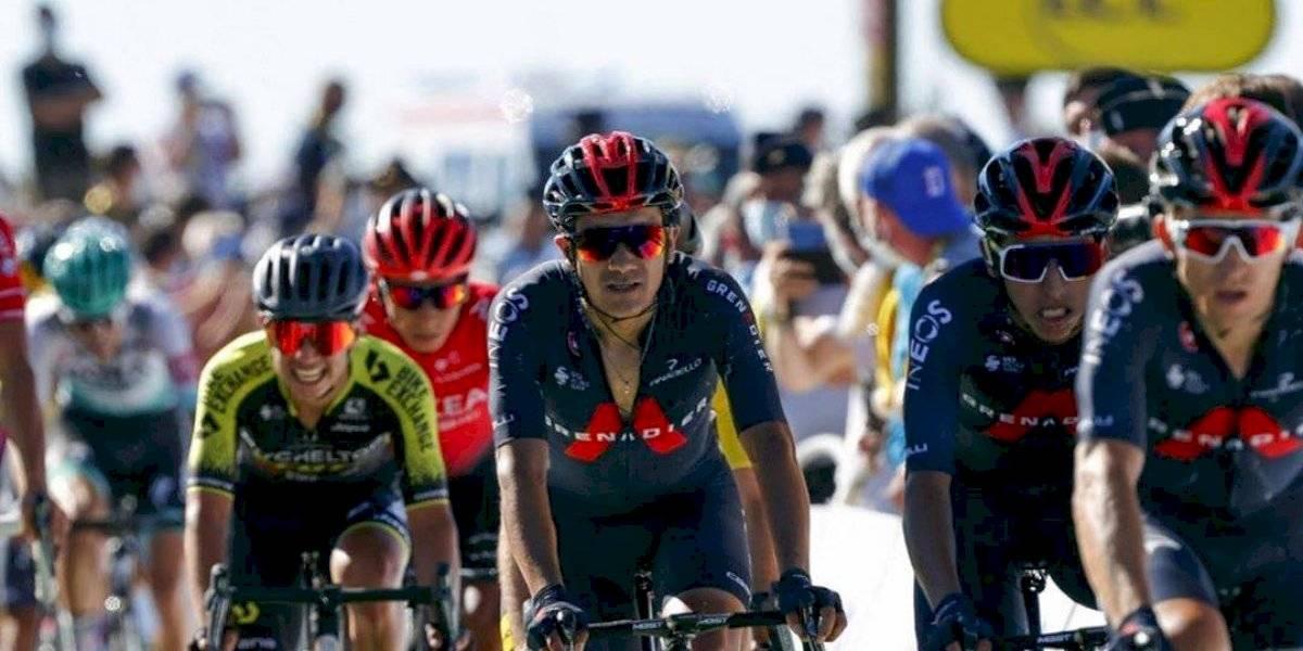 Richard Carapaz escala a la posición 17 del Tour de Francia, ¿a cuánto está del líder?