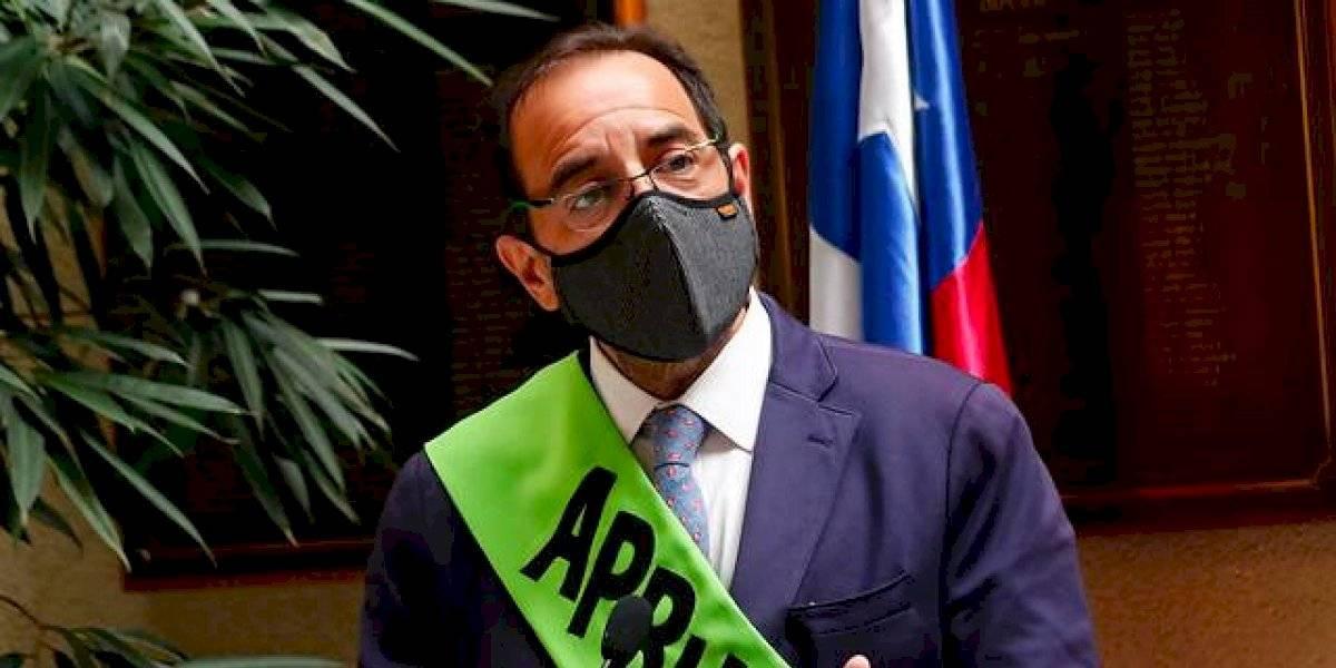 Diputado Jaime Mulet fue proclamado como candidato presidencial de la Federación Regionalista Verde Social