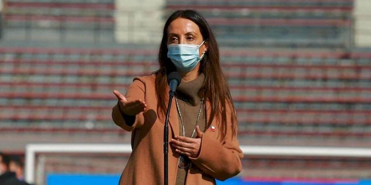 """El mensaje de ministra Cecilia Pérez por el Superclásico: """"En pandemia el verdadero hincha protege su salud"""""""