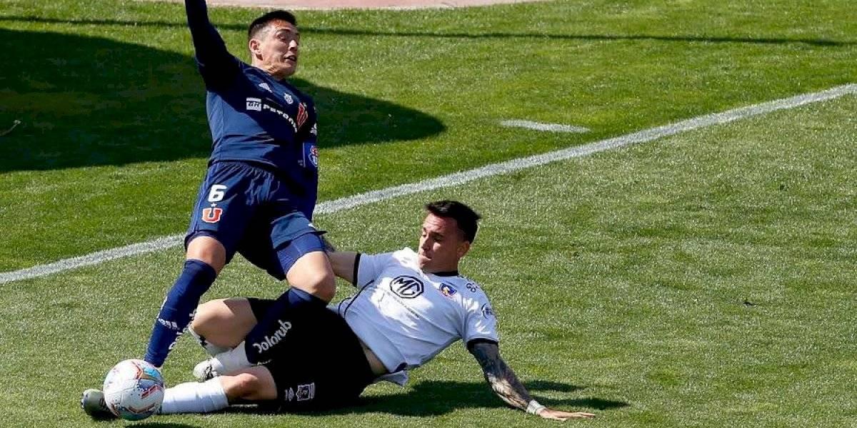 """La """"U"""" y Colo Colo repartieron puntos, patadas y goles perdidos en un """"Superclásico"""" que no le sirve a ninguno"""