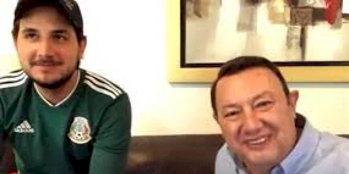 Hijo de Toño de Valdés debuta en transmisión de la Liga de Expansión