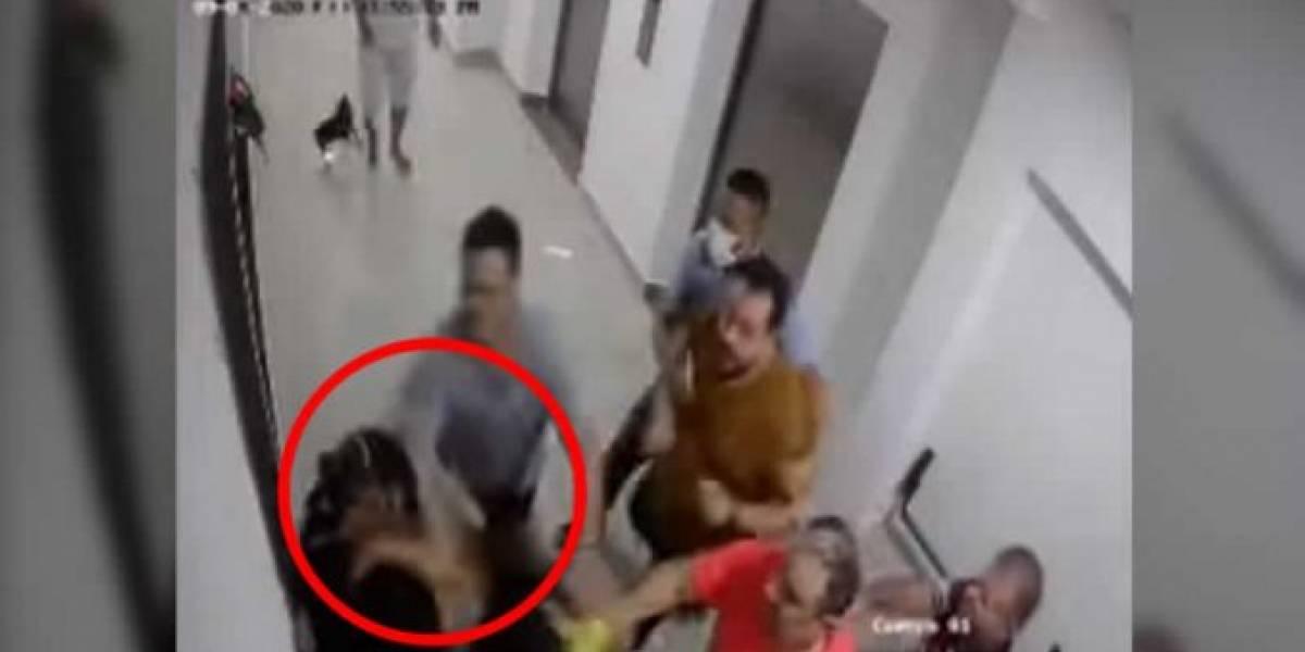 Pediatra barranquillera relató la dura golpiza que le propinaron sus vecinos