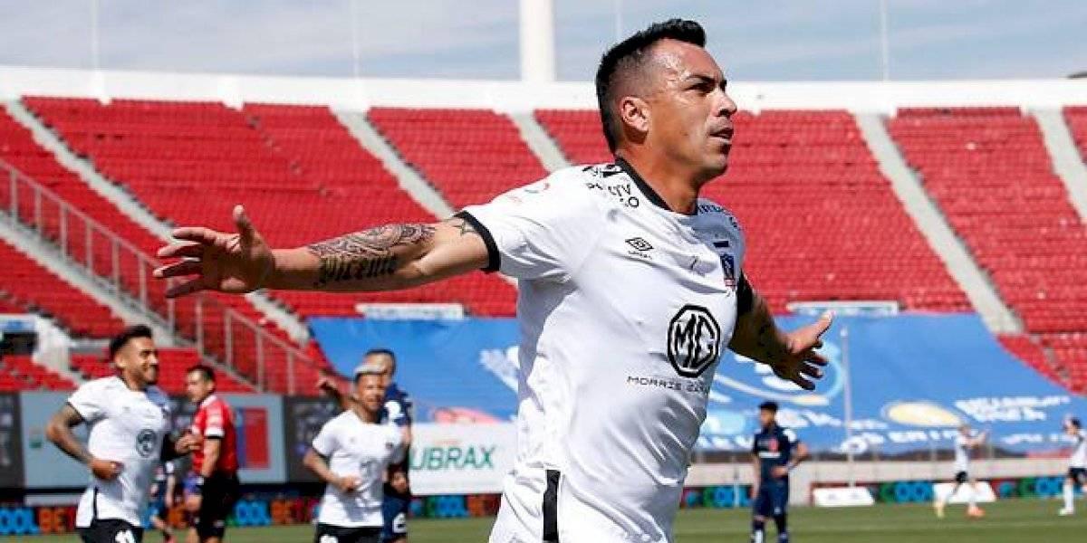 Esteban Paredes iguala a Carlos Campos como el máximo goleador en Superclásicos