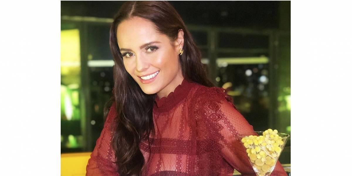 Ana Lucía Domínguez lució su envidiable bronceado en bikini
