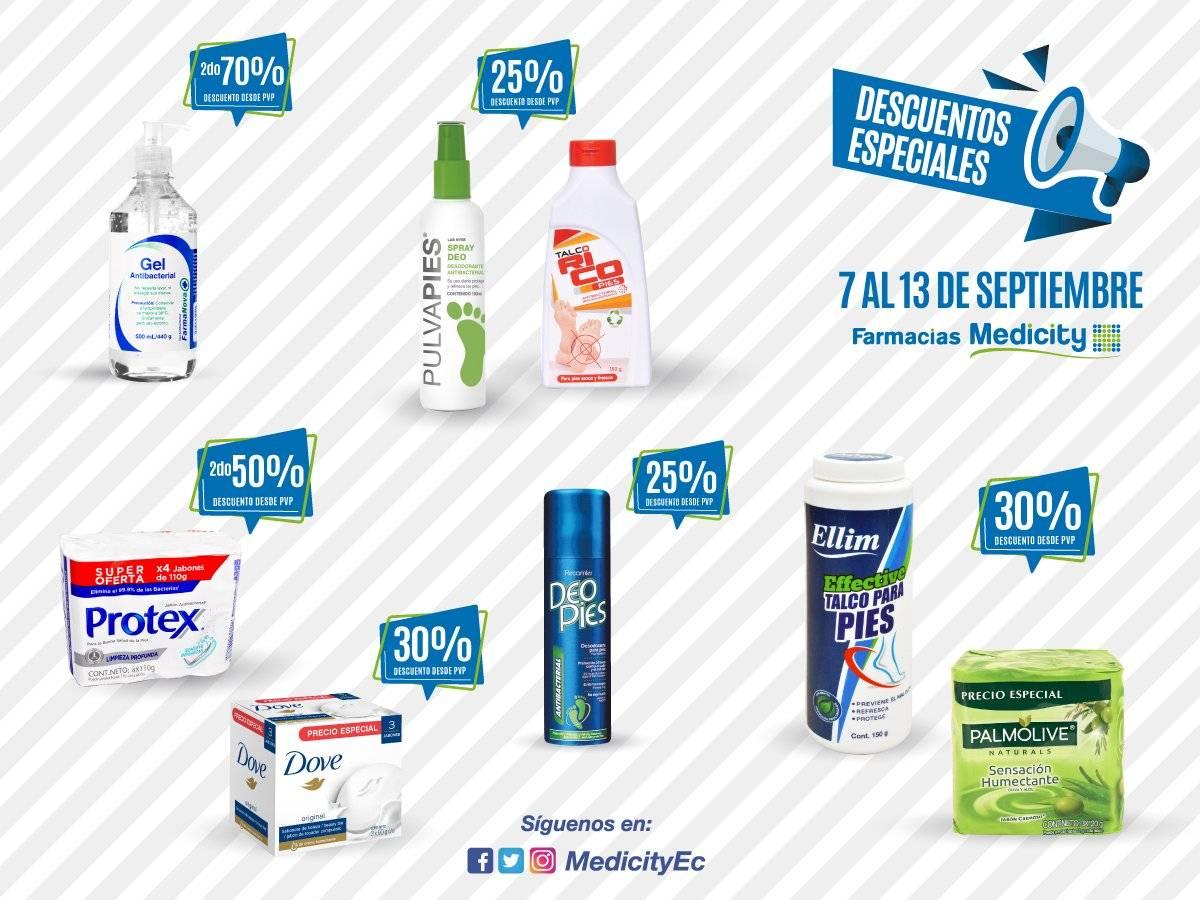 Promociones Medicity 7 al 13 de Septiembre.