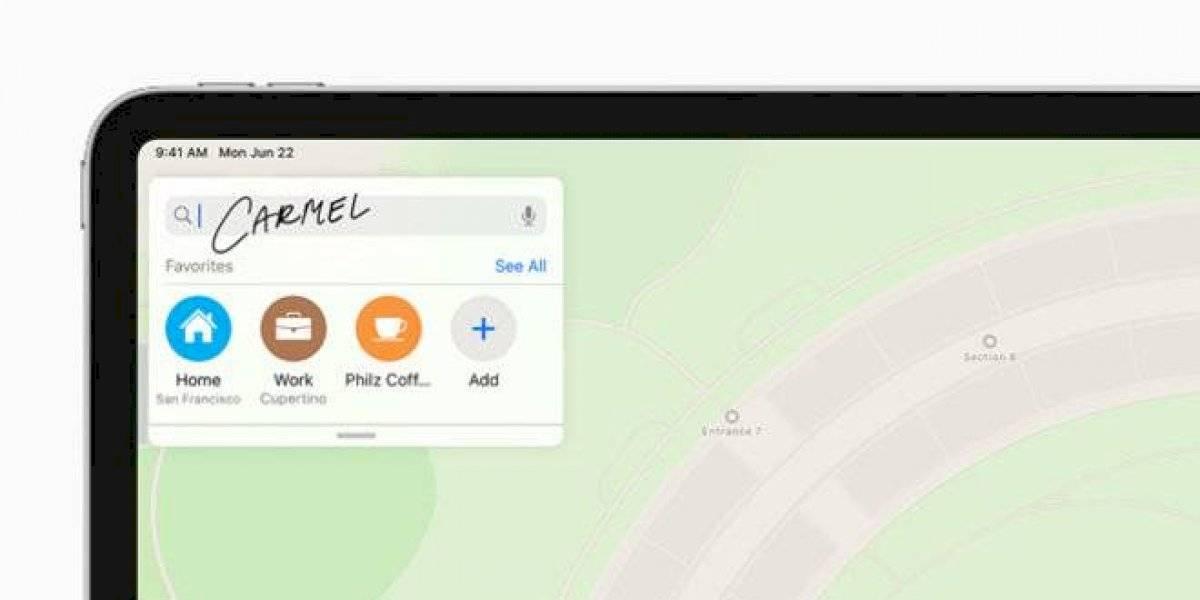 """""""Scribble"""": la herramienta que te permite escribir en el iPad como nunca antes"""
