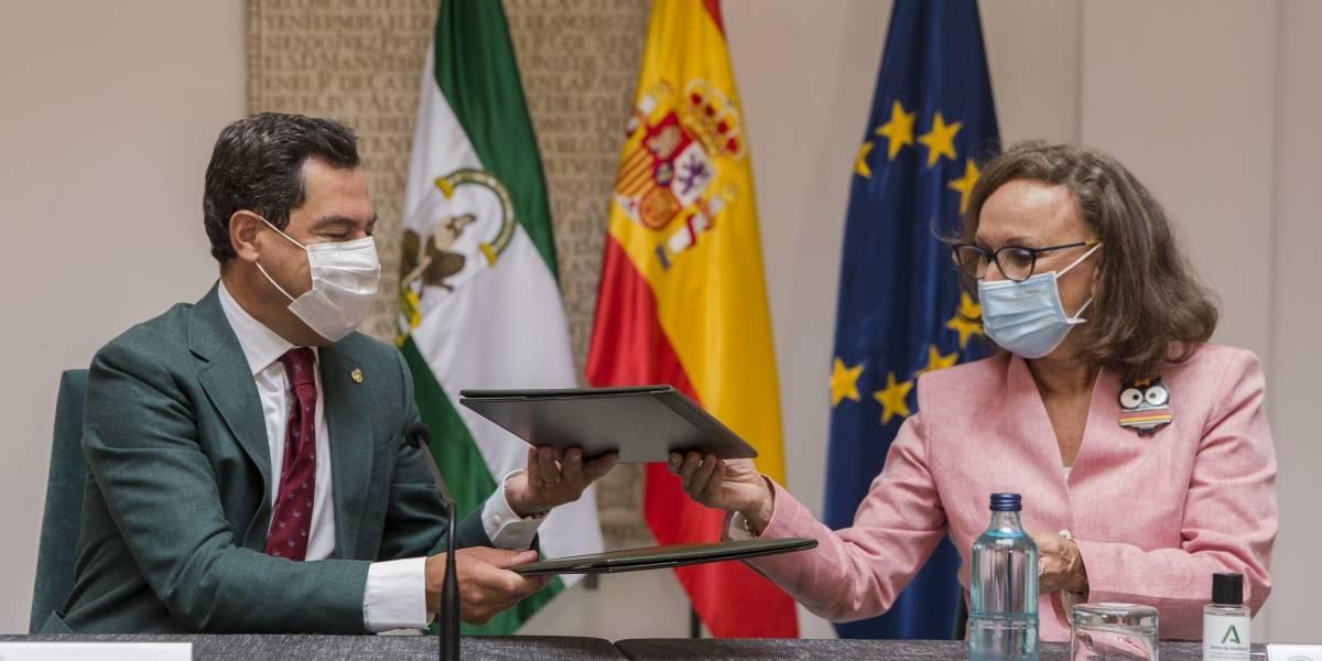 Moreno propone impulsar y liderar desde Andalucía un Foro Iberoamericano de Regiones que enriquezca su papel estratégico