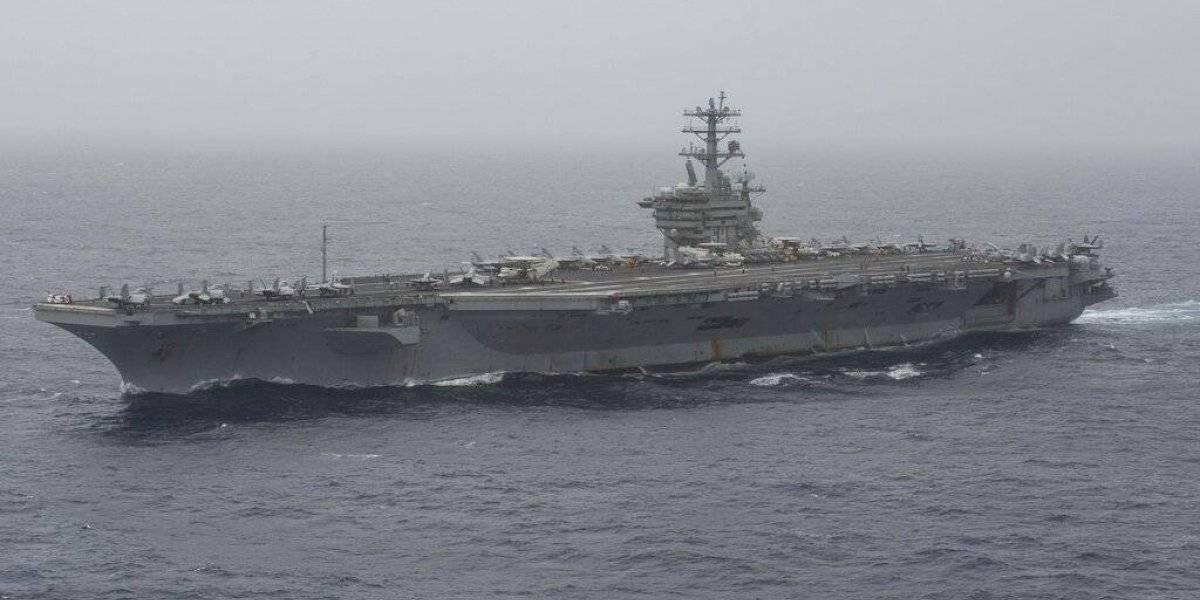 Marina de EE. UU. busca a marinero perdido en el Mar Arábigo