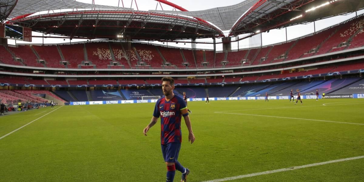 Messi regresa a entrenar con Barcelona tras pedido de salir del club