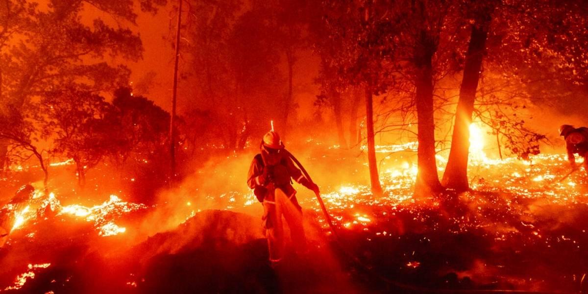 Incendios forestales establecen récord en California