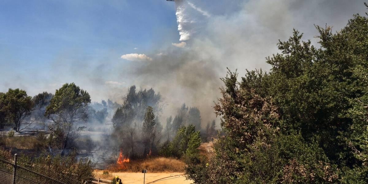 Pareja provoca incendio forestal en fiesta para revelar género de su bebé