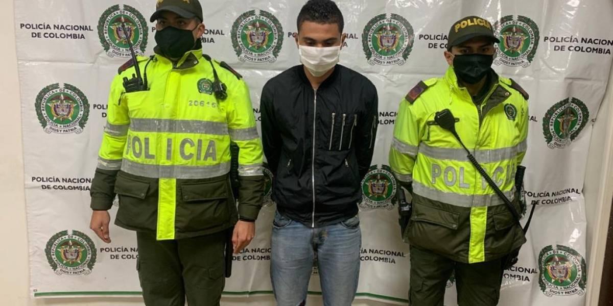 Robando, así cayó en Bogotá hombre que escapó de Barranquilla luego de asesinar a su pareja