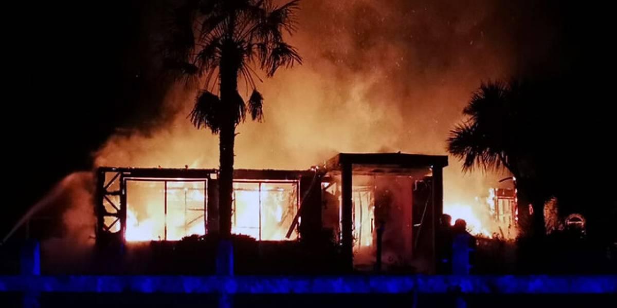Dos nuevos ataques incendiarios se registraron durante la madrugada en Cañete