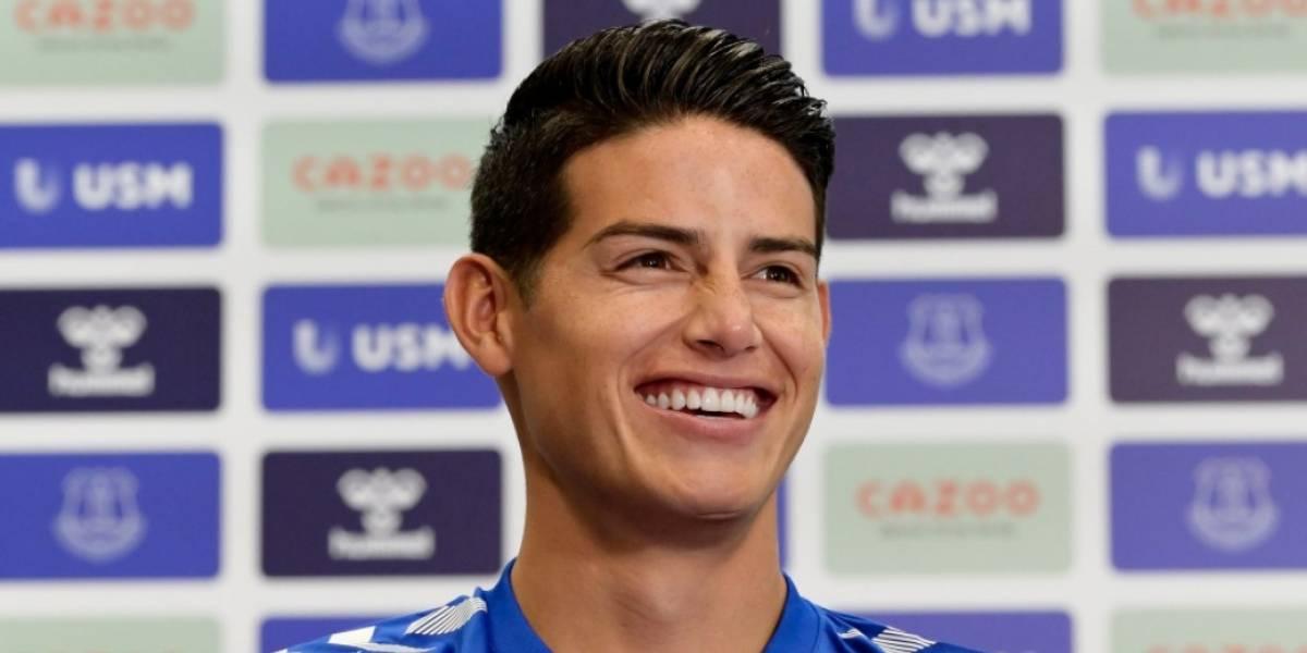 Oficial: James Rodríguez es el nuevo jugador del Everton