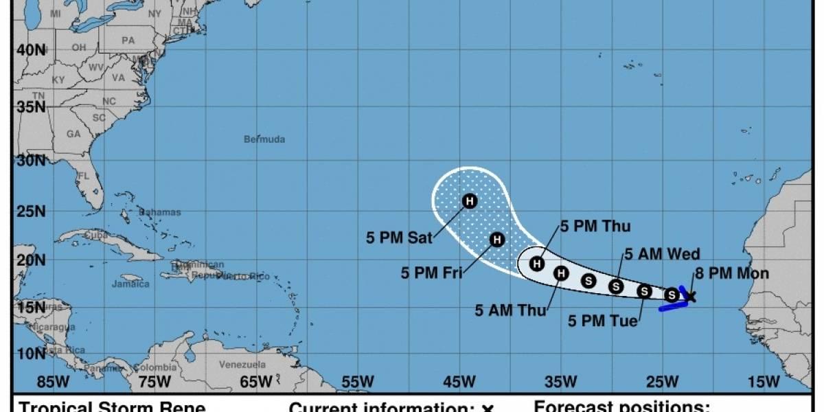 Se forma la tormenta René y establece nuevo récord