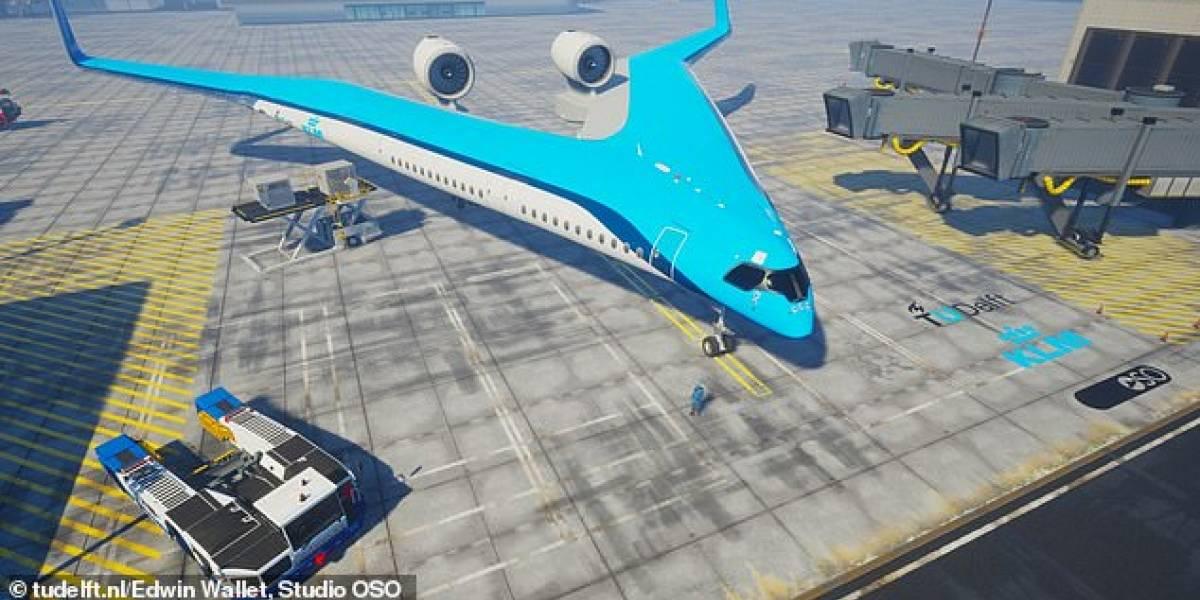 El Flying V, un avión menos contaminante, realizó su vuelo de prueba