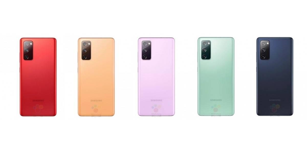 Samsung Galaxy S20 Fan Edition 5G vendría en seis colores y sería muy potente