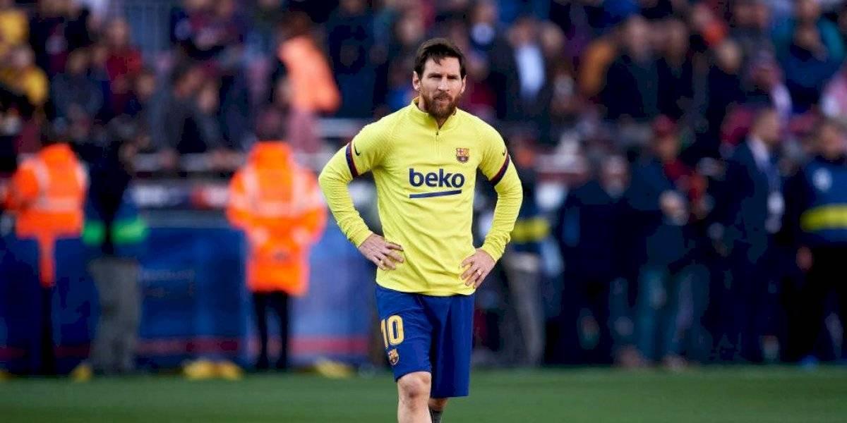 Lionel Messi regresa a los entrenamientos del Barcelona