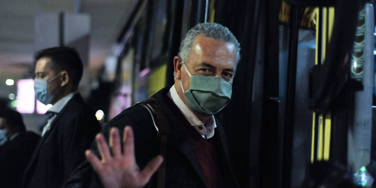 Gustavo Alfaro, el nuevo DT de Ecuador, llegó al país