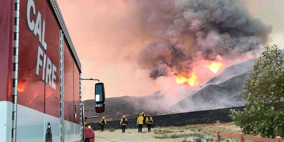 Ola de calor en California: la temperatura rompió récord y causa fatales incendios