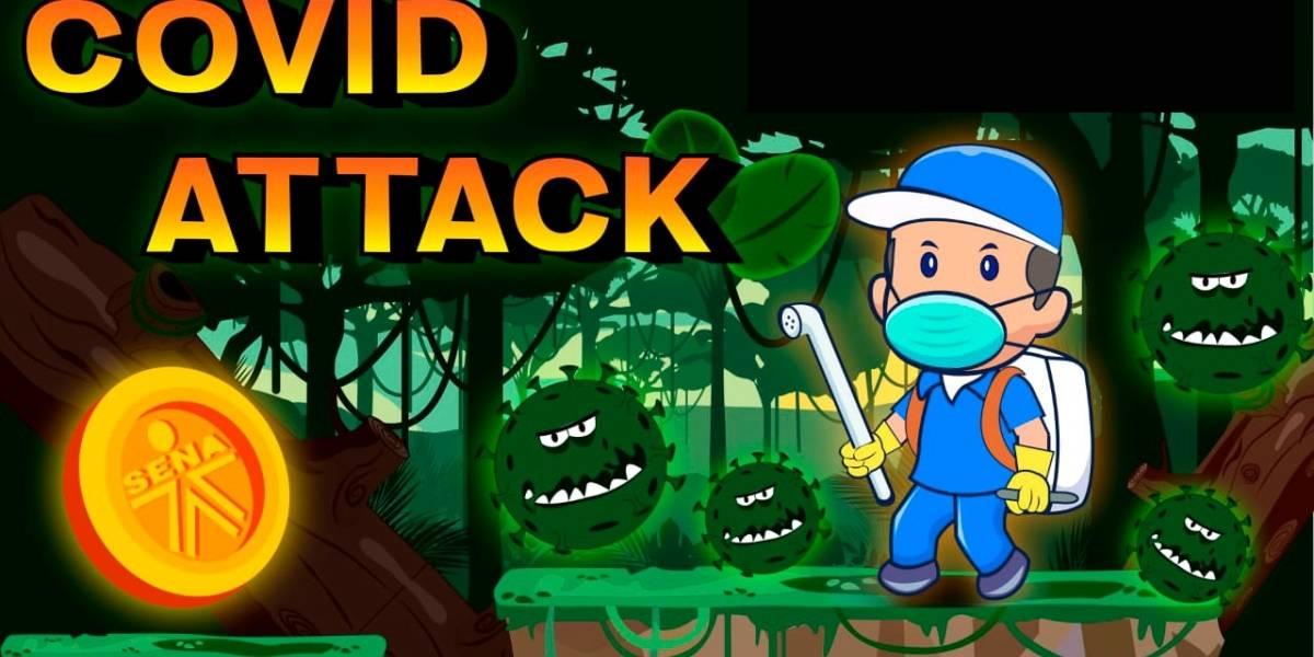 El videojuego creado por joven bogotano para enseñarle a los niños a cuidarse de la COVID-19