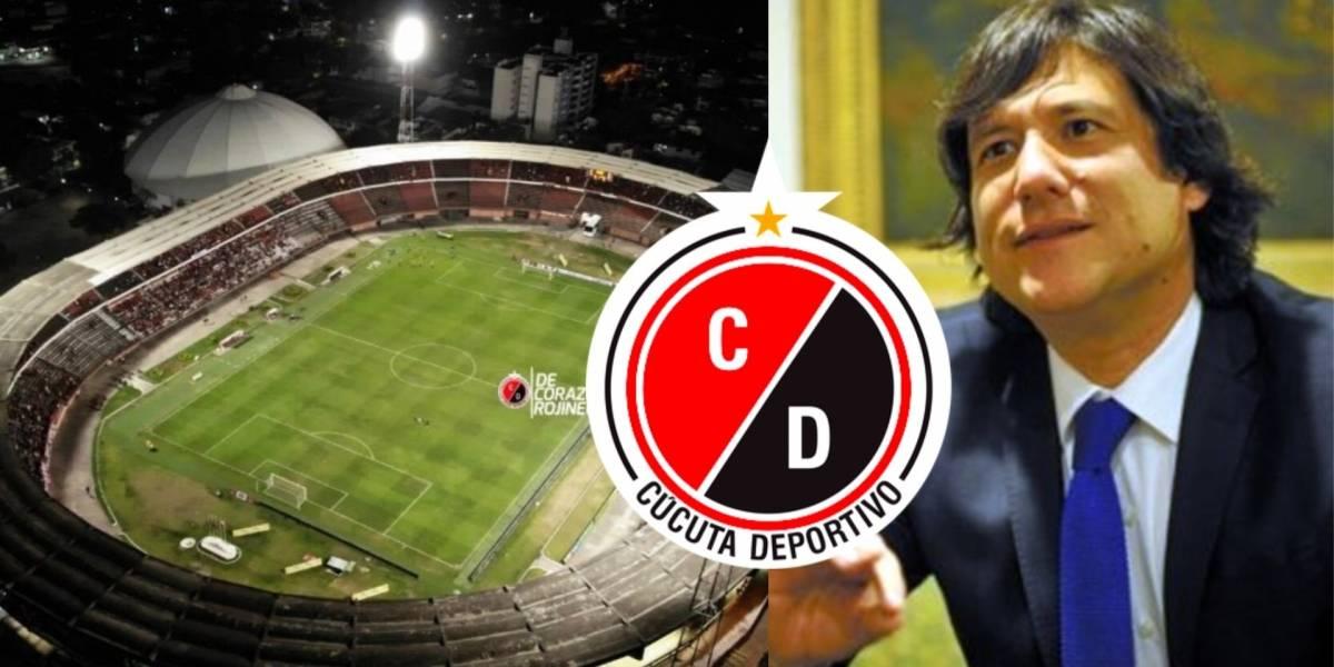 Video Palabras Del Presidente Del Cucuta Deportivo Contra Alcaldia Por Estado Del Estadio General Santander Futbol Colombiano Jose Augusto Cadena