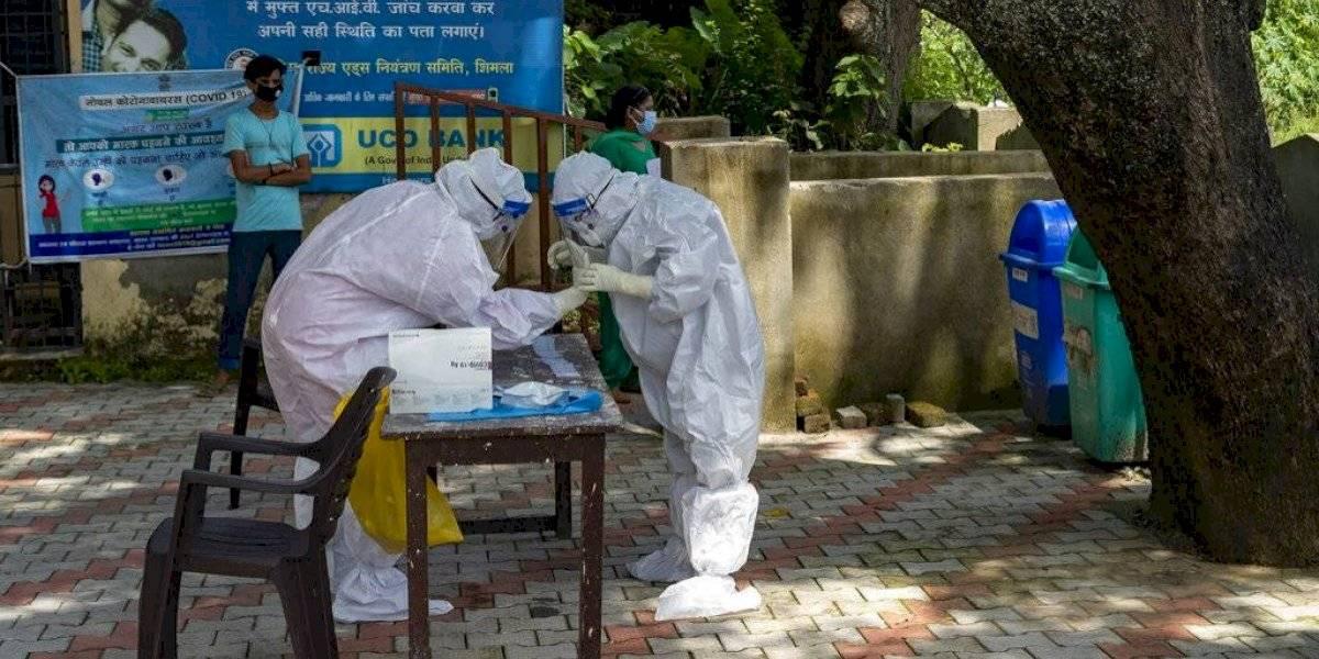 Coronavirus: India bate su récord de muertes diarias y registra más de 1.100 fallecidos