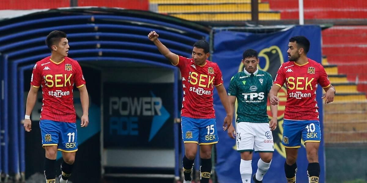 """Unión Española se quedó con el """"duelo del cuarto grande"""" ante Santiago Wanderers y acecha a la UC"""