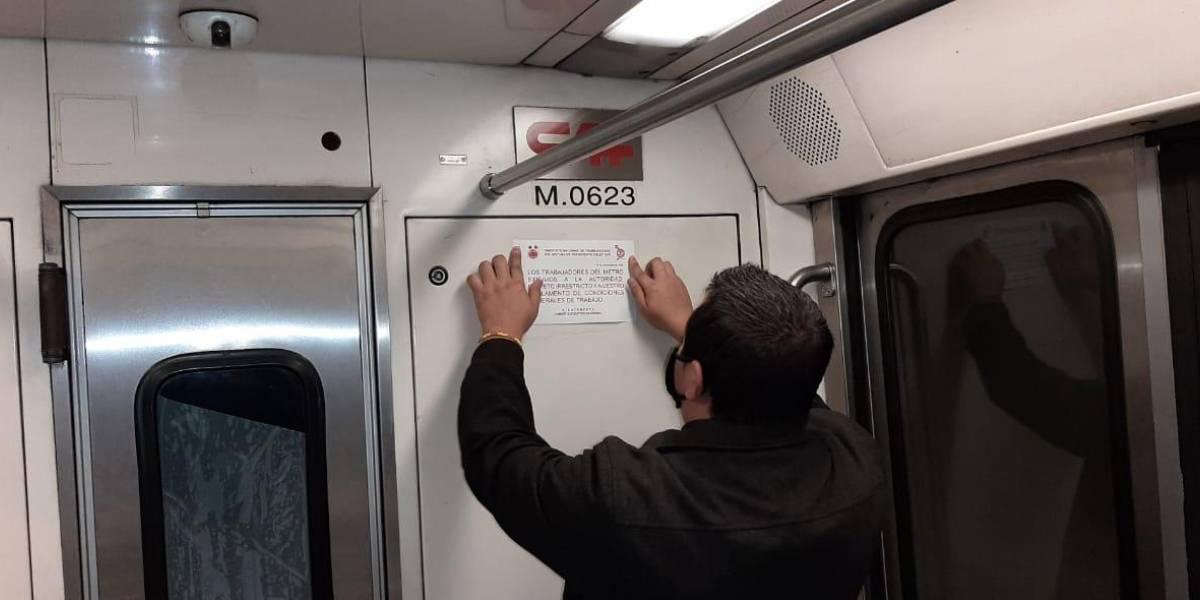 Demandan trabajadores del Metro que no les recorten sus prestaciones