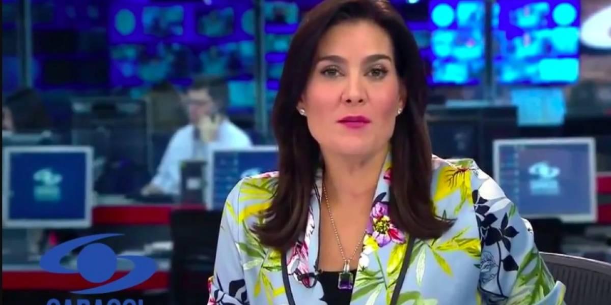 Vanessa de la Torre reveló un detalle sobre sus comentadas entrevistas en 'Noticias Caracol'