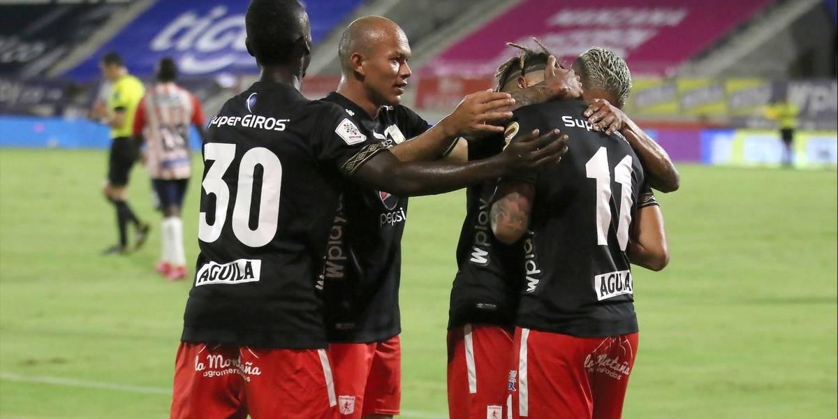 ¡América apagó la fiesta en Barranquilla! Los escarlatas vencieron a Junior en la ida de la Superliga