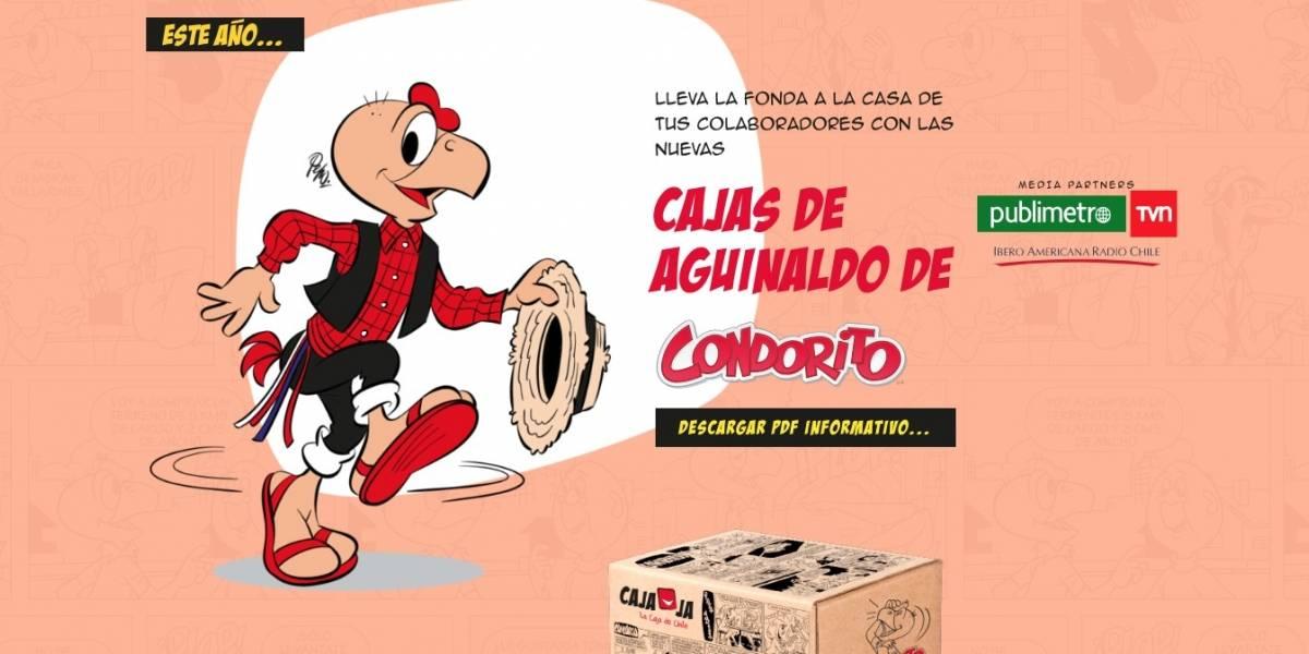 Cajaja: Condorito se la juega por un 18 para celebrar en casa
