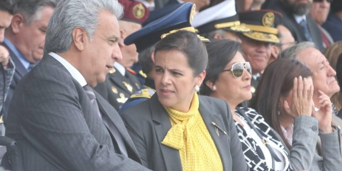 Lenín Moreno envía mensaje a María Paula Romo tras llamado a juicio político