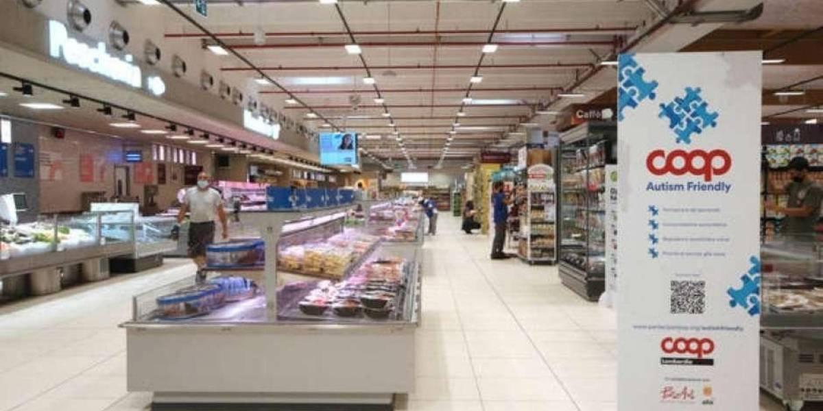 Empresa aposta em supermercado adaptado para pessoas do espectro autista
