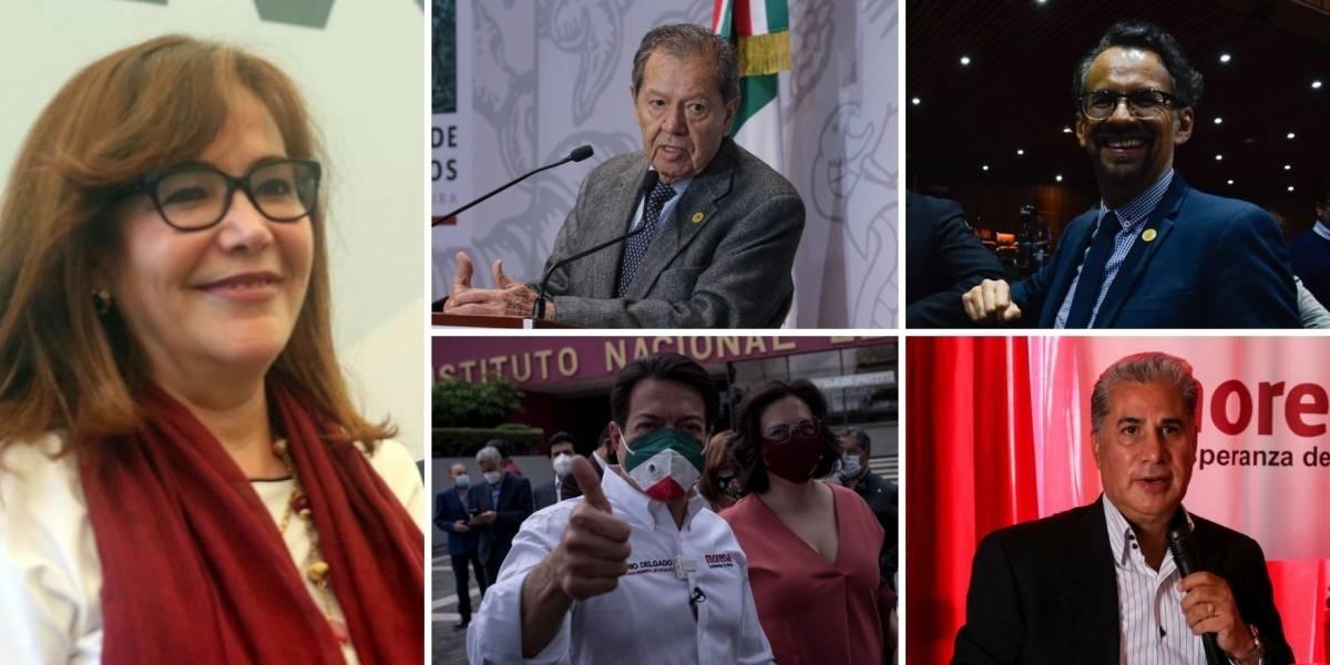 ¿Quiénes van por la dirigencia de Morena?