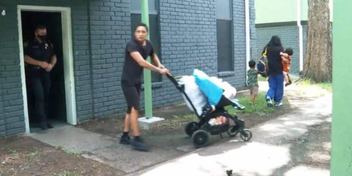 Familia latina es ayudada con miles de dólares, tras desalojo