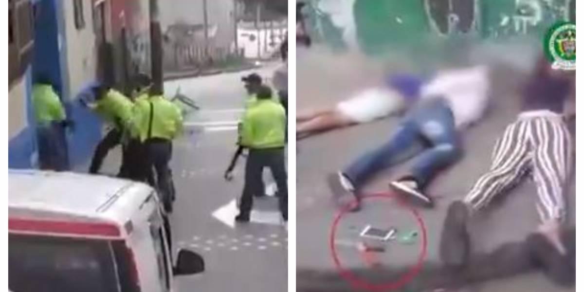 (VIDEO) Así cayeron los 6 delincuentes que tenían secuestrada a una familia en un inquilinato en Bogotá