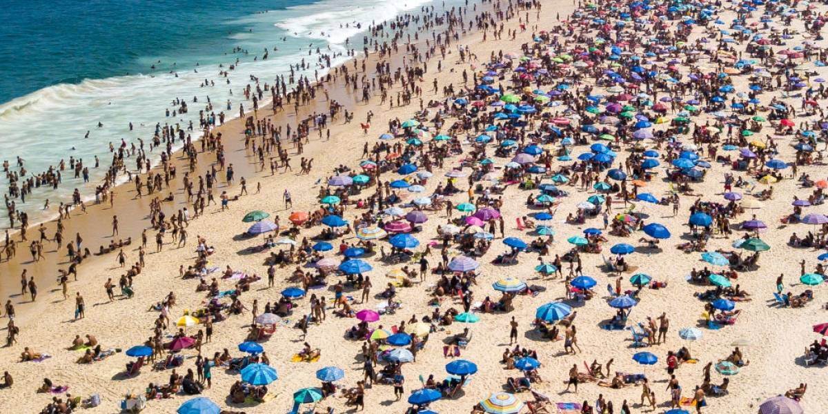 Rio de Janeiro registrou afogamentos e desaparecidos durante feriadão