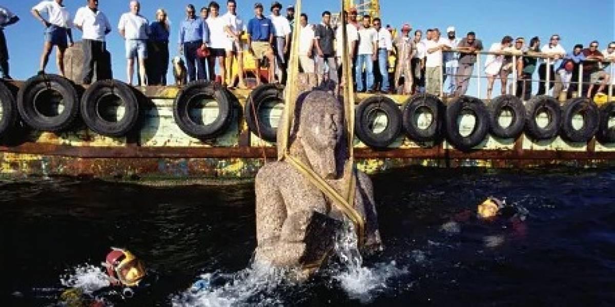 Egipto bajo el agua: conoce los restos de un templo en una ciudad hundida