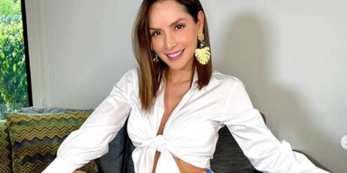 El elegante traje de bioseguridad de Carmen Villalobos que muchas seguidoras ahora quieren