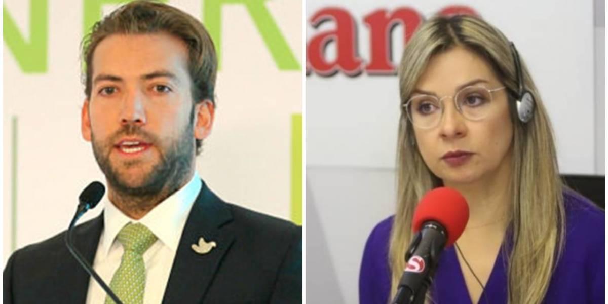 Le dan palo a Vicky Dávila por insultar a Martín Santos