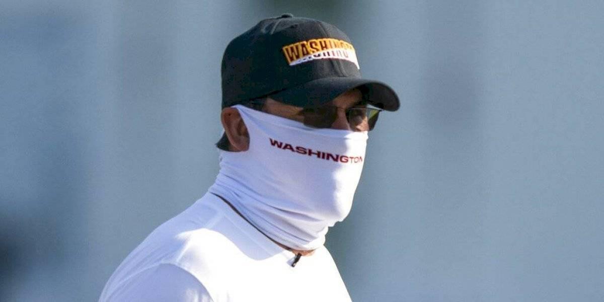 Coach boricua Ron Rivera se pierde práctica por comienzo de tratamiento contra cáncer