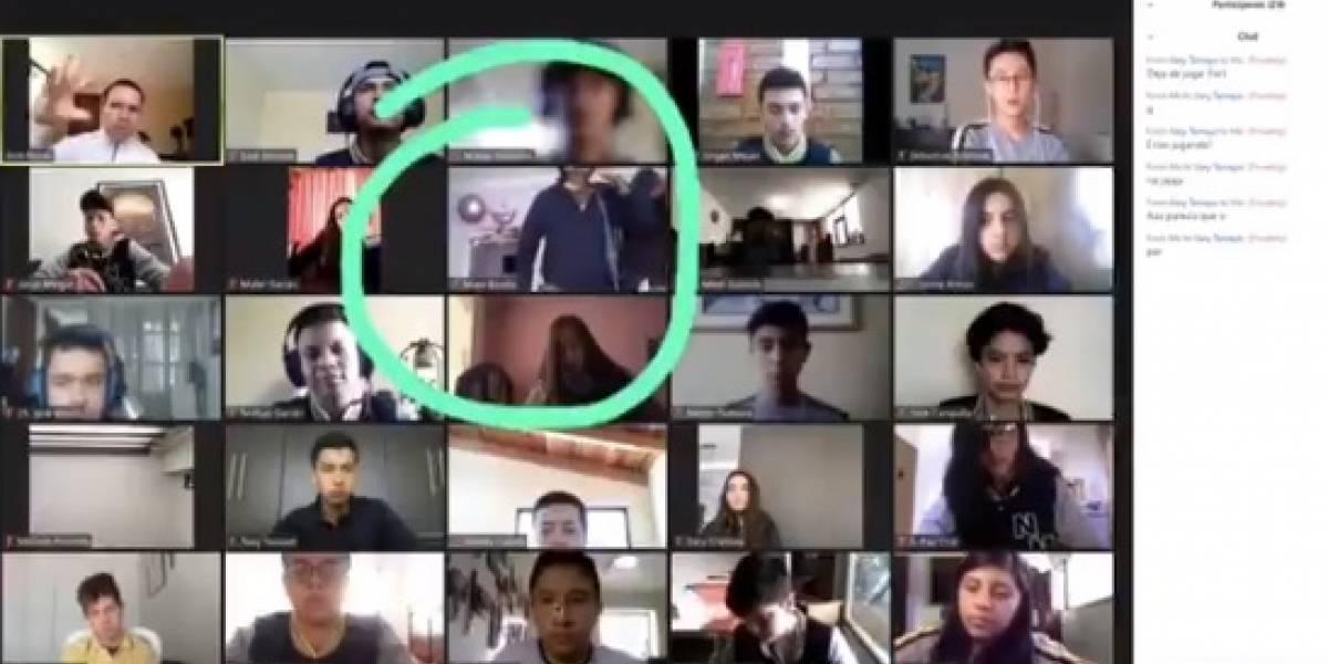 """""""Profe, están robando en la casa de la Majo"""": estudiante fue asaltada en medio de clases por Zoom"""
