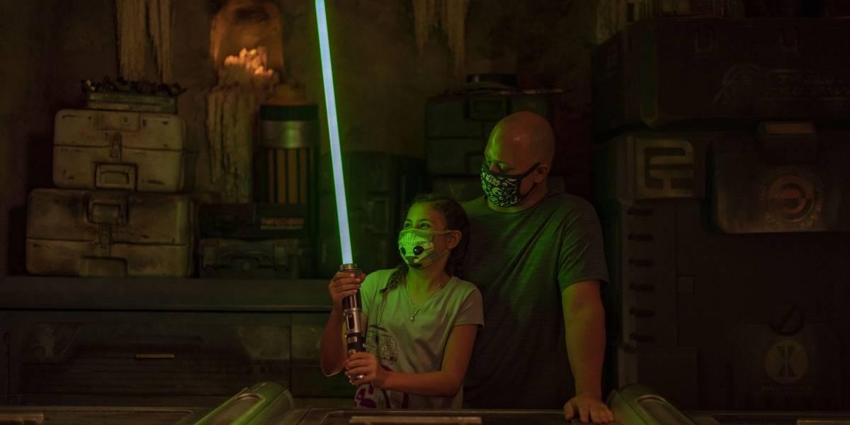 La Fuerza fluye de nuevo: Ya puedes crear tu 'lightsaber' en estudio de Disney