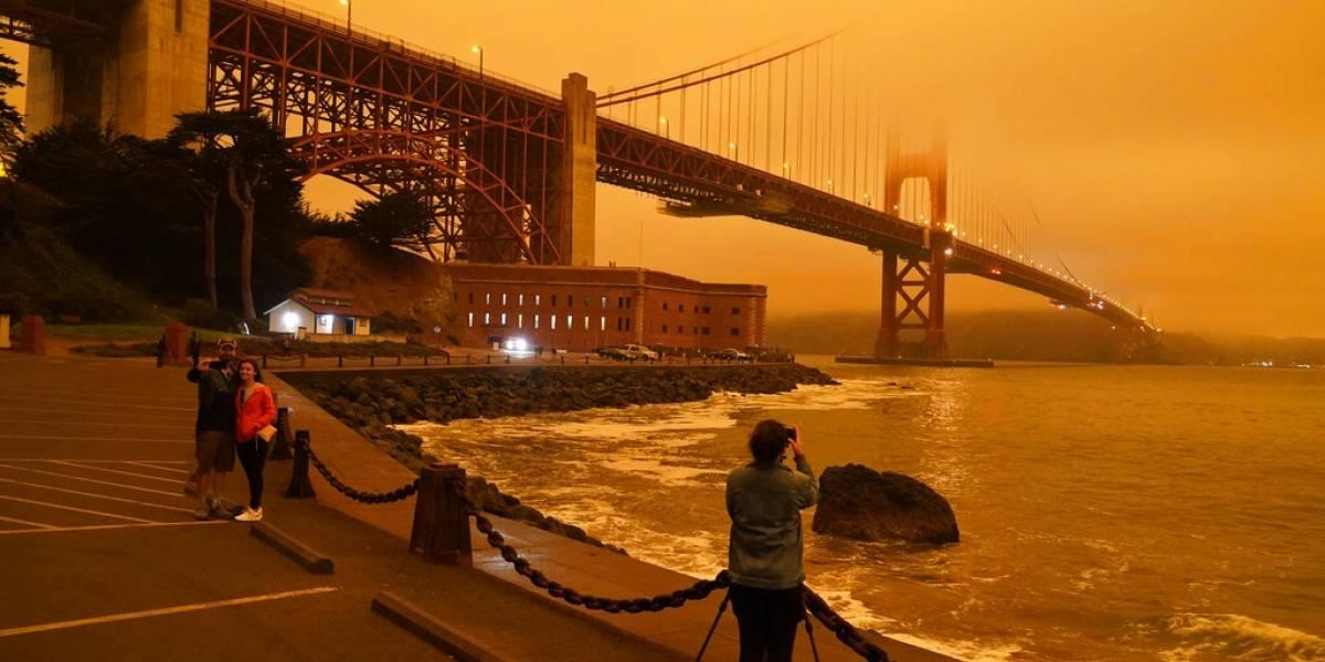 Humo de incendios oscurece los cielos en el oeste de Estados Unidos
