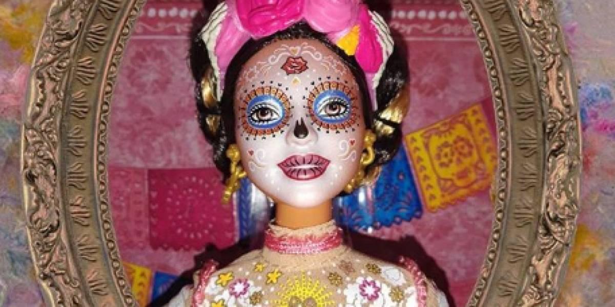 """Esta es la nueva versión de Barbie catrina para celebrar el """"Día de Muertos"""""""
