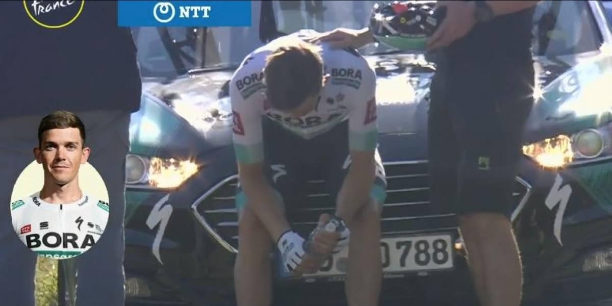 ¡Alarma en el Tour! Ciclista tiene síntomas de COVID-19, aún así lo dejaron correr y terminó retirándose